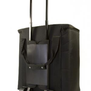Carry Case with Trolley Back view